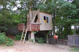 Simple Tree Fort Designs Simple Tree House Yard Fort Designs