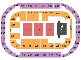 Arena At Ford Idaho Center Seating Chart Nampa