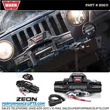 warn zeon 10 s 10 000lbs single line recovery winch 48 usa warn zeon 10s winch 89611