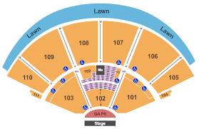Cynthia Pavilion Seating Chart The Lumineers Tickets