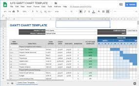 Gantt Chart Google Sheets Free 5 Free Project Management Templates For Google Sheets