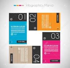 紙タグ付きインフォ グラフィック デザイン テンプレートです表示情報