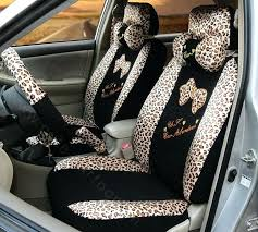 animal print seat covers print universal auto car seat covers ice silk full set black animal animal print seat covers