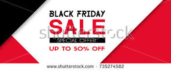 black friday promotional banner vector banner template facebook cover size