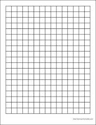 Printable Grid Paper Template Unique Free Graph Paper 48 Squares Per Inch Heavy Black From Formville