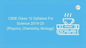 Science Physics Cbse Class 10 Syllabus For Science 2019 20 Pdf Cbse Class