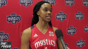 The Focus - Washington Mystics Media Day Taylor Hill Interview - YouTube
