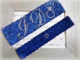 Blue Garters For Wedding