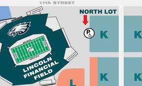 Pro Shop Parking Lincoln Financial Field
