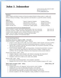 Entry Level Medical Billing And Coding Resume Resume For Medical Coder Medical Coder Resume Sample Medical Medical