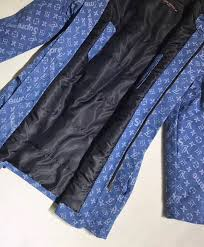 replica louis vuitton x supreme womens parka coat