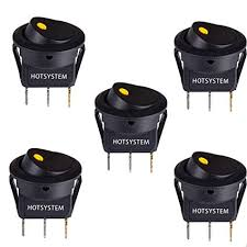 switch wiring adding auto topoff accessories leds switches etc amazon com hotsystem dc12v 20a round rocker toggle switch on off switch wiring adding auto topoff accessories leds switches etc