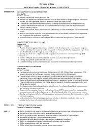Resume Best Practices Environmental Health Resume Samples Velvet Jobs