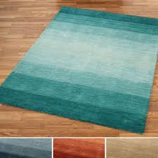ombre blue area rugs luxury brennon hand loomed wool ombre area rugs