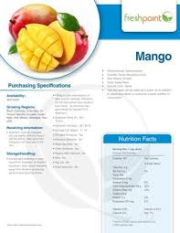 freshpoint produce specification guide
