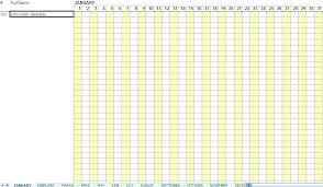 Employees Attendance Sheet Template Employee Attendance Tracker Template Daily Employee Attendance Sheet