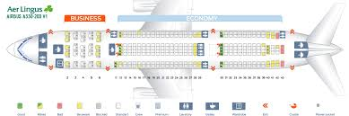 Best Seat On Airbus A330 200 Airbus 330 Seats Seating Chart