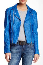 image of doma texas process leather jacket