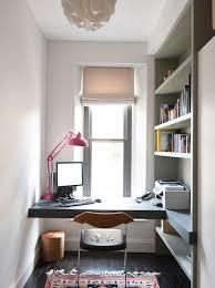 small home office desk built. Luxurious-home-office-with-built-in-desk-dark- Small Home Office Desk Built