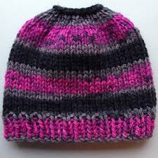 Free Knitted Hat Patterns On Circular Needles Extraordinary The Best Free Knit Ponytail Hat Patterns Aka Messy Bun Beanies A