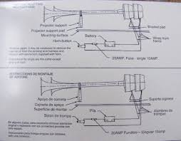 wiring diagram fiamm horn wiring diagram and schematic air horn