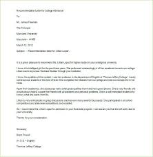 Letter Of Recommendation Template For Student Reference Letter Template For Student Beadesigner Co