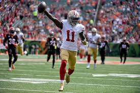 49ers end wide receiver Marquise Goodwin's season, put him on IR