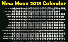 Moon Chart October 2018 Full Moon Calendar Printable Year Calendar
