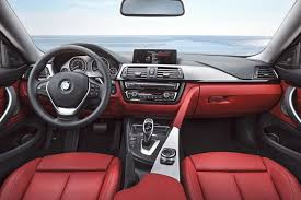 with the 2 series it s just seats and door cards but if i was ping for a 3 or 4 series a c red dash would put me off straight away