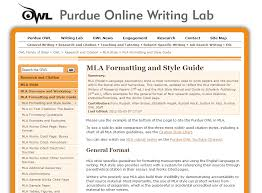Mla Guidelines 2020 Mla Formatting And Style Guide From Owl At Perdue