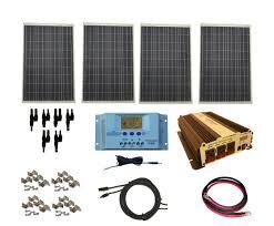 windynation 400 watt solar panel kit for motorhome
