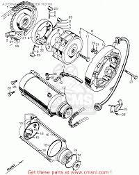 Honda cb450k2 1969 usa alternator starter motor schematic
