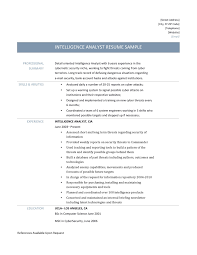 Gallery Of Plain Text Resume Template