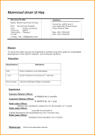 New Resume Format 2015 Doc Professional Resumes Example Online