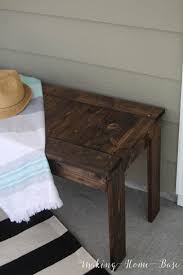 diy furniture west elm knock. DIY Wood Slat Bench West Elm Knock Off Diy Furniture U