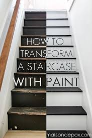 step by step instructions on how to paint stairs amazing transformation maisondepax com diy tutorial