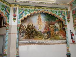 painting on the wallPainting on the wall  Picture of Shree Cutch Satsang Swaminarayan