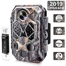 [2019 Upgraded] Trail Camera, CARMATE 20MP <b>1080P</b> Wildlife ...