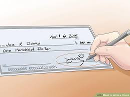 how to write a check steps pictures wikihow image titled write a check step 5