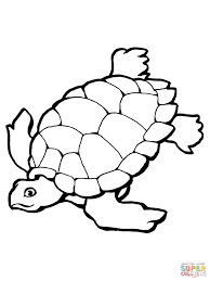 Small Picture Swimming Sea Turtle coloring page Free Printable Coloring Pages