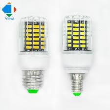 Led Bulb E27 E14 12w Corn Lamp Ac 110 220 Volt Smd5736 Chip