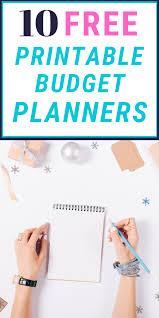Budget Planners Free 10 Free Printable Budget Planners Taytalksmoney