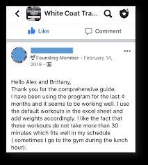 the white coat trainer strength program