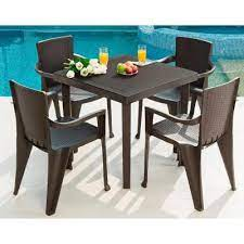 plastic lawn table and chairs off 55