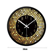 Amazon Com Zfdm Living Room Creative Wall Clock Clock Low
