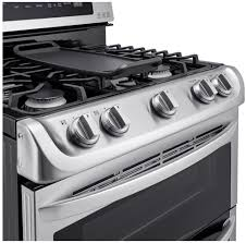 Ft Gas Double Oven Range With Probake Convection Easyclean Express And Gliding