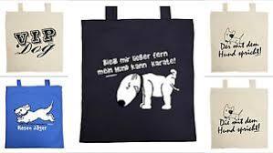 Hunde Tasche Lustige Tierische Sprüche Baumwoll Geschenktasche