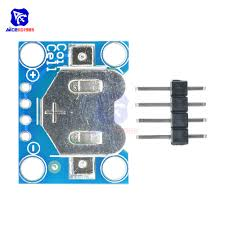 <b>12mm Coin Cell</b> Breakout Board CR1220 <b>Button Battery</b> Holder ...
