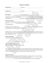 Free Sample Business Proposals Business Proposal Template Free Business Proposal Sample Jane 8