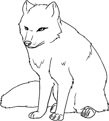 Beautiful Of Arctic Fox Coloring Page Pictures Printable Coloring